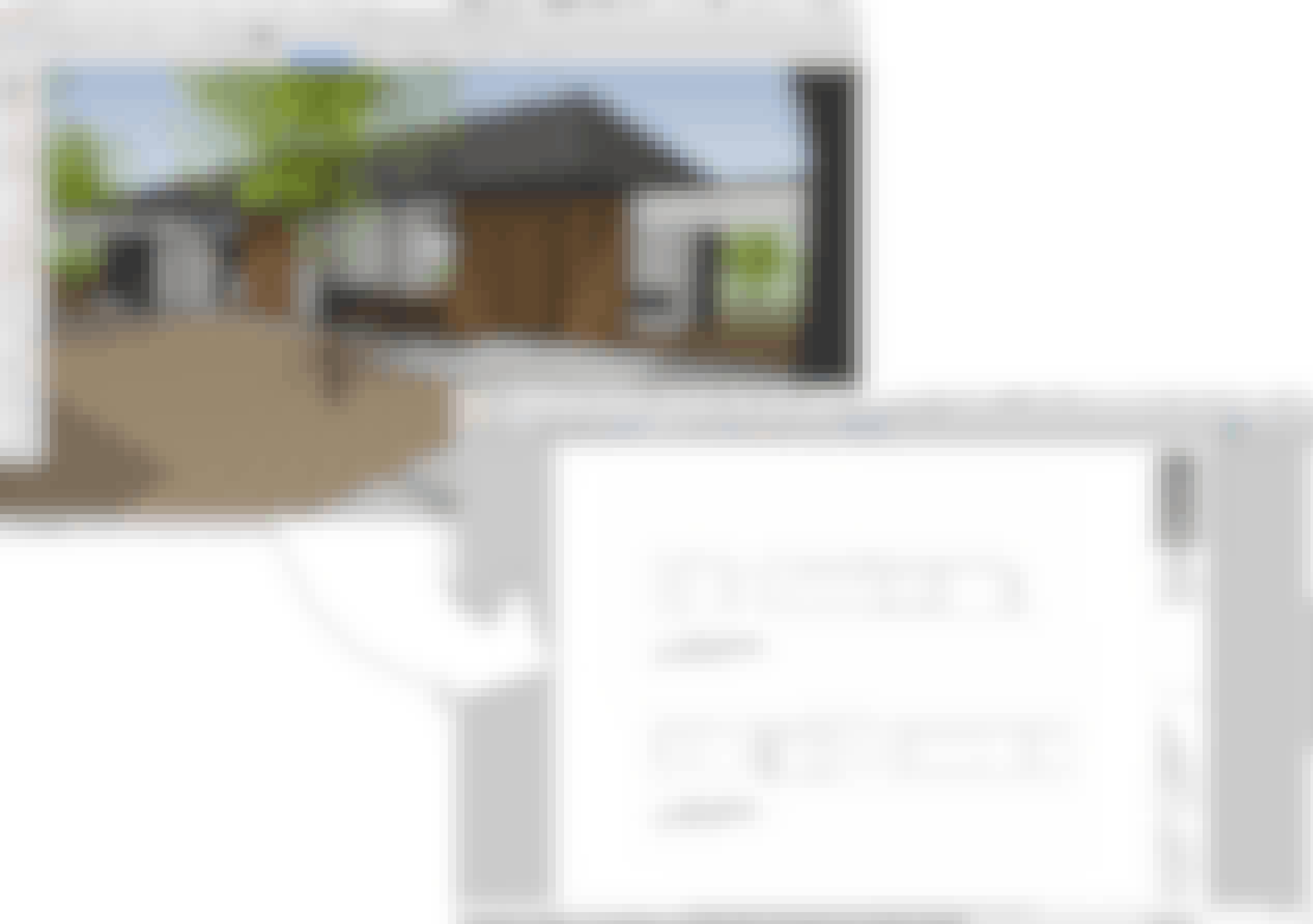 sketchup model to 2d presentation