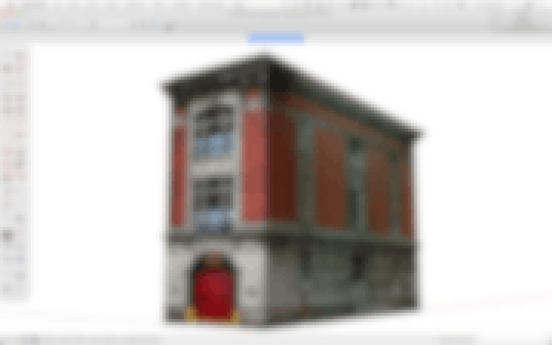 3D model of a Building
