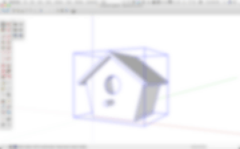 3D printabe birdhouse