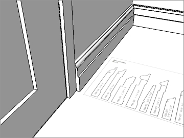 SketchUp Tutorial Series: SketchUp for Interiors Level 3: Base & Crown Molding with Follow Me & Profile Builder