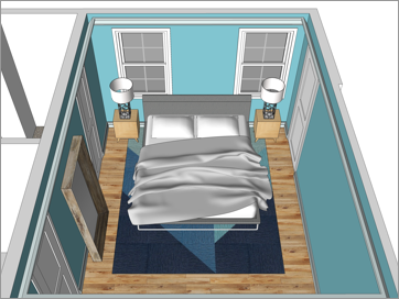 SketchUp Tutorial Series: SketchUp for Interiors Level 5: Leverage 3D Warehouse to Furnish a Room